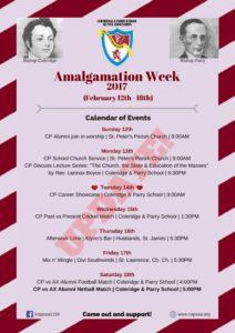 Amalgamation Week 2017